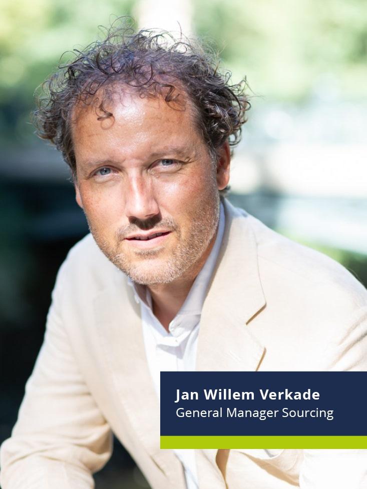 Jan Willem Verkader benoemd als General Manager Sourcing De Gilde Groep