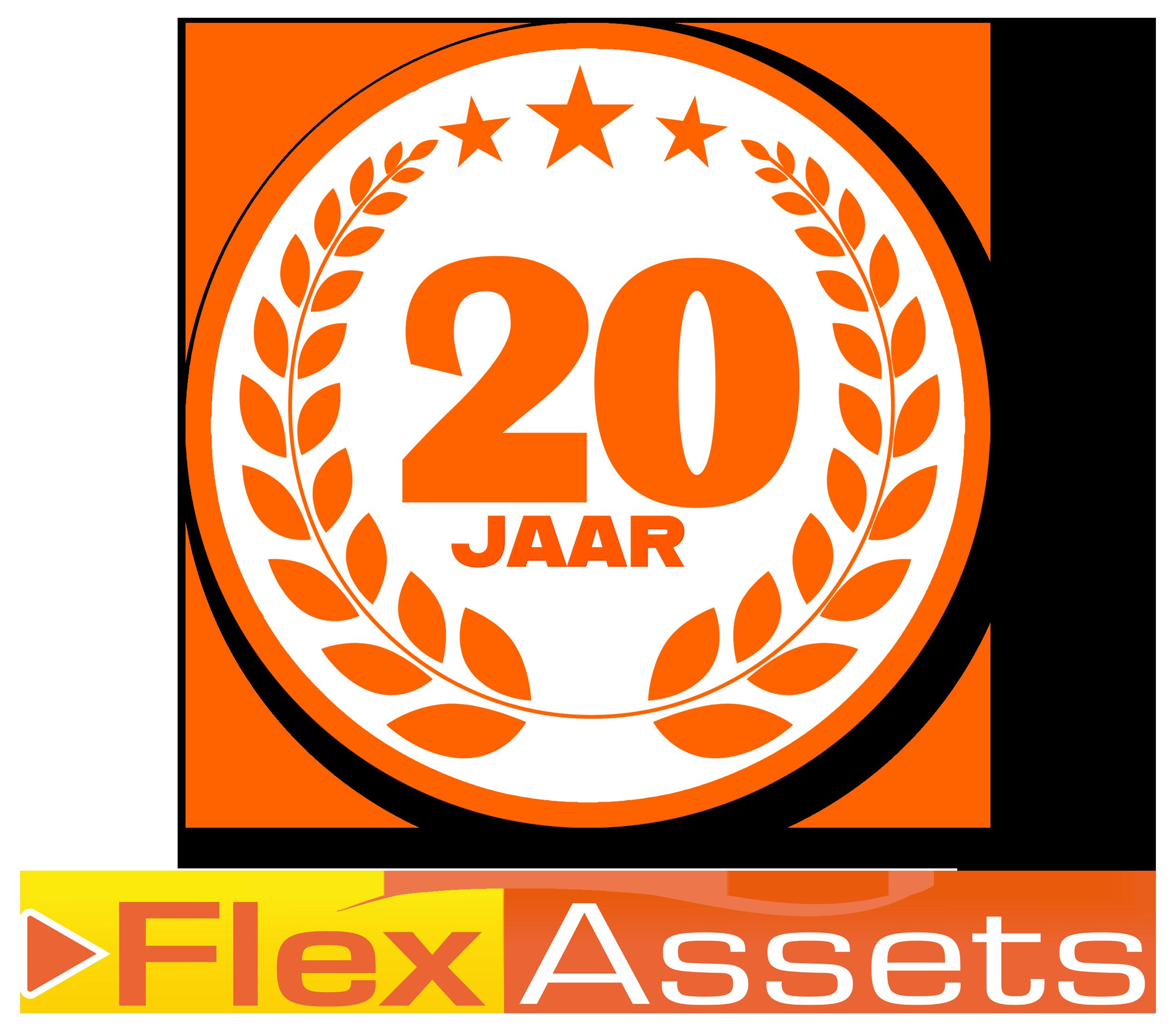 20 jaar FlexAssets