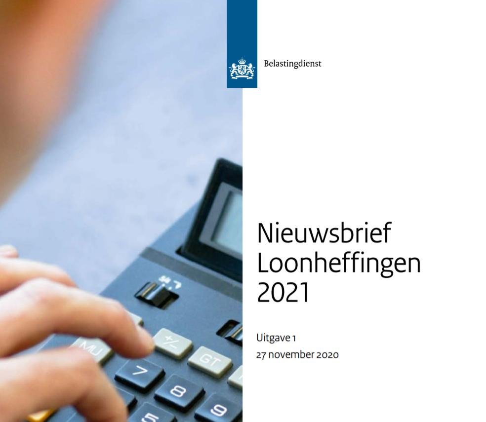 Nieuwsbrief loonheffingen 2021
