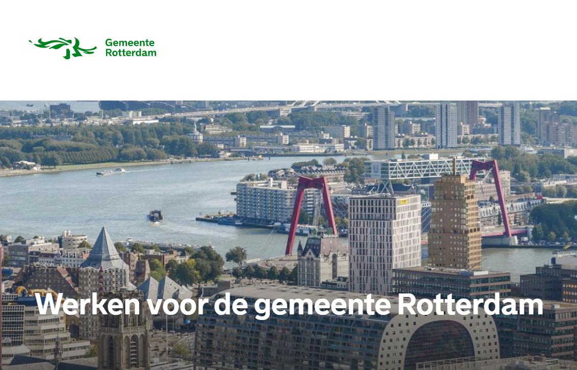 Werken voor de Gemeente Rotterdam