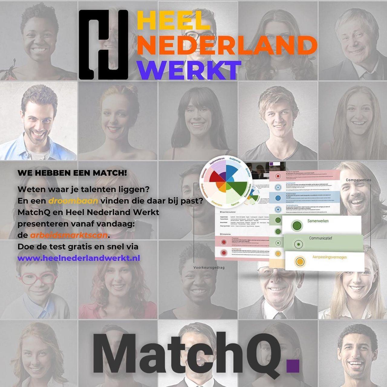 Heel Nederland Werkt en MatchQ Arbeidsmarktscan