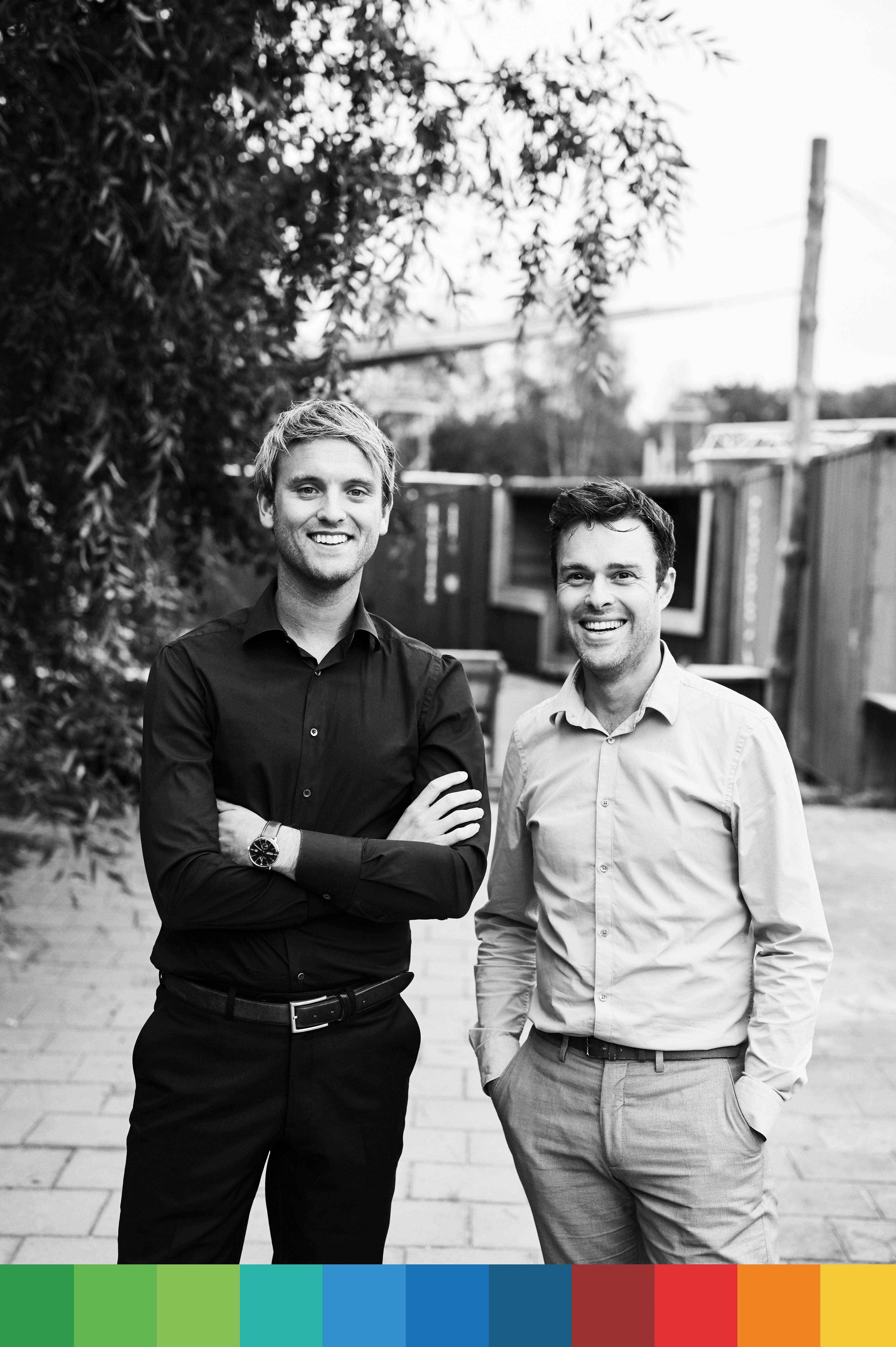 John Reijne en Simon Griede