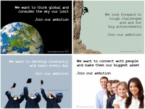 """Arbeidsmarkt campagne ATC-Group """"Join-our-Ambition"""""""