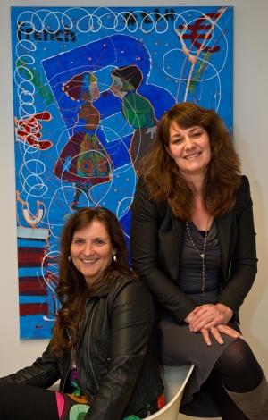 Paula Verstappen en Ilse Visser, Undutchables Recruitment Agency